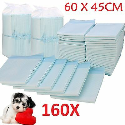 160X Large House Puppy Dog Cat Pet Potty Training Pads Large Pee Train Pad Mats