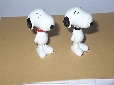 Nice Pair Of Wade Snoopys, Red And Black Collars. 2005