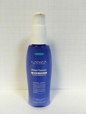 Lanza Healing Moisture Ultimate Treatment Step 2A Power Booster Additive -3.4oz
