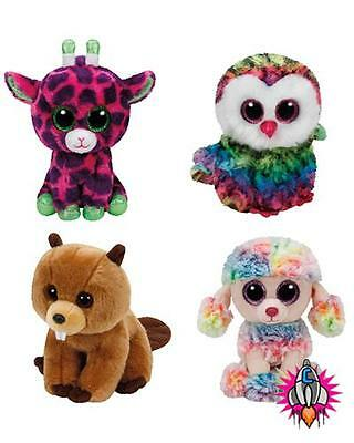 Ty Beanie Boo Babies Plush Soft Toy New With Tags Richie Rainbow Gilbert Owen