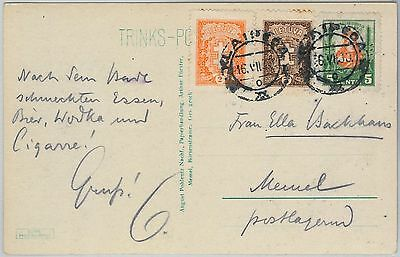 58505 -   LITHUANIA - POSTAL HISTORY: POSTCARD to GERMANY - 1930