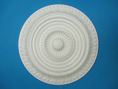 Ceiling Rose Lightweight Polystyrene Large-665mm-'Meadowfield Glory' FREE P&P