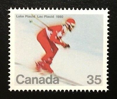 Canada #848 MNH, Winter Olympics - Downhill Skier Stamp 1980