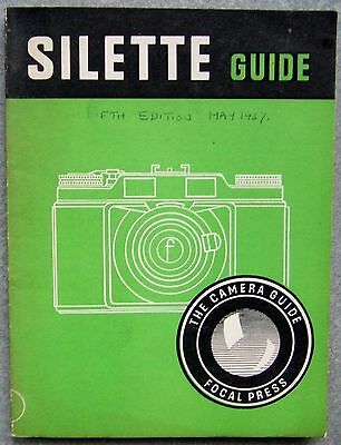AGFA SILETTE  GUIDE. FOCAL PRESS. 5th EDITION 1957
