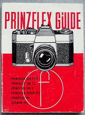 PRINZFLEX GUIDE. FOCAL PRESS. 1st EDITION 1973