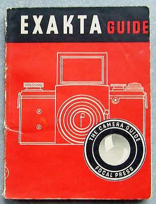 EXAKTA GUIDE 12th EDITION FOCAL PRESS 1951