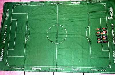 Corinthian Microstar Football Pitch With 11 Figures