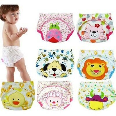Girl For Pee Potty Training Infant Panties Baby Diapers Baby Underwear Nappy
