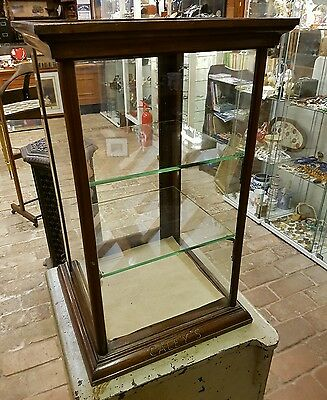 Antique Caleys Chocolate of Norwich Counter Display Cabinet
