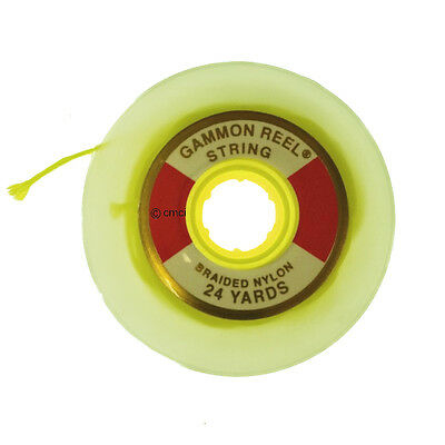 24 Yard Flo Yellow Gammon Reel String Refill 002 for Large 12 FT Gammon Reel