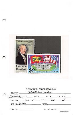 Lot of 38 Grenada MNH Mint Never Hinged Stamps #94554 X