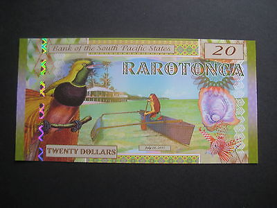 Bank Of South Pacific States - Polymer $20 - 28.07.2015 - Kamberra Unc
