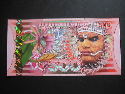Netherlands East Indies-500 Gulden Polymer-Peoples Series - Uncirculated