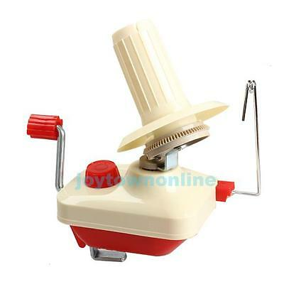 Hand Operated Knitting Roll Fiber String Yarn Wool Ball Machine Winder Holder