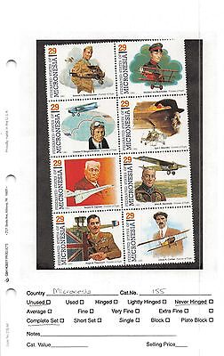 Lot of 8 Sets 1993-1996 Micronesia MNH Mint Never Hinged Sheets Stamps #83601 X