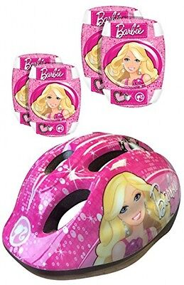 Stamp Barbie Helmet, Elbow and Knee Pads