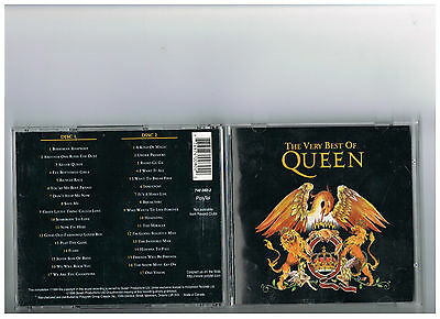 Queen 2 Cd Set. The Very Best Of..rare Greatest Hits.