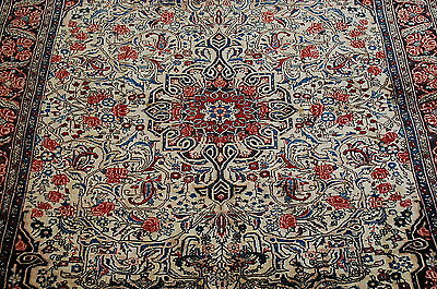 c1930s ANTIQUE EXCLUSIVE FINE PRSIAN BIJAR RUG 4.9x6.10 HIGHLY DETAILED_BEAUTY