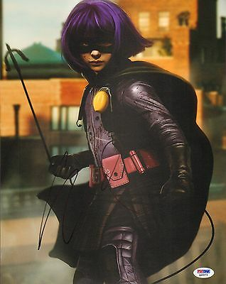 Chloe Grace Moretz Signed Kick-Ass 11x14 Photo PSA/DNA COA Hit-Girl Autographed