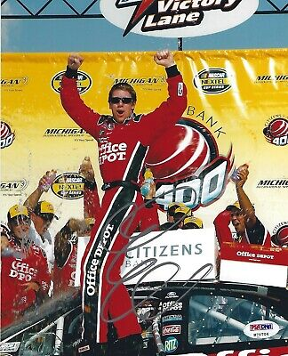 Carl Edwards Signed NASCAR 8x10 Photo PSA/DNA COA Picture Autograph Sprint Cup