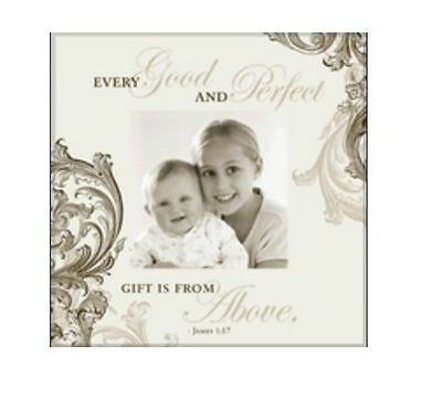 Havoc Gifts Baby Keepsake Every Good And Perfect Gift Photo Frame Pkg Defect