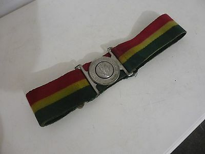 Vintage 1980's British Army Tunic Belt 5Th Royal Inniskilling Dragoon Guards