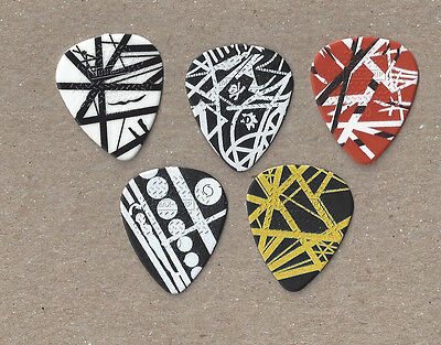 Van Halen - Set of five 2015 Tour guitar picks