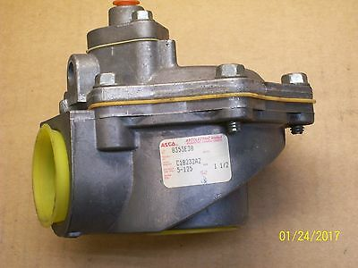 """Dust Collecting Solenoid Valve ASCO 2-Way 8353 Normally Closed 1 1//2/"""" 125PSI NEW"""