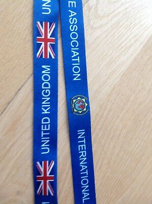 International Police Association IPA British lanyard section id warrant holder