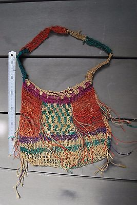 Nice old Papua New Guinea colourful bilum bag