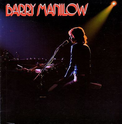 Barry Manilow 1976 This One's For You Tour Concert Program Book