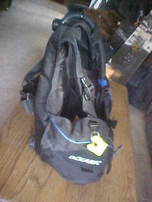 NICE OCEANIC BAJA Scuba Dive Diving BC, BCD Vest, SIZE SMALL, WORKS GREAT