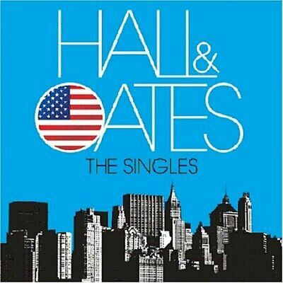 Hall & Oates - The Singles - Hall & Oates CD GAVG The Cheap Fast Free Post The