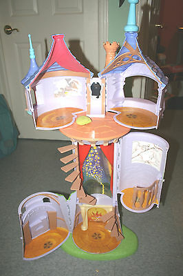 Disney TANGLED Rapunzel 3ft Fairytale Princess TOWER Playset 2010