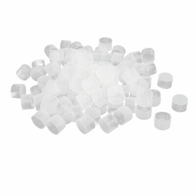 uxcell G3//4 PE Plastic Pipe Thread Protection Sleeve Dustproof Covers Caps 100pcs