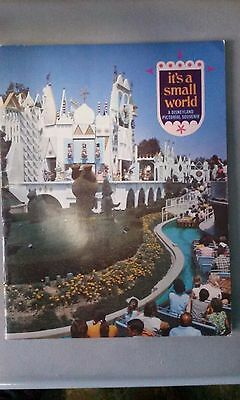 DISNEY Its a Small World a Disneyland Pictorial Souvenir 1969
