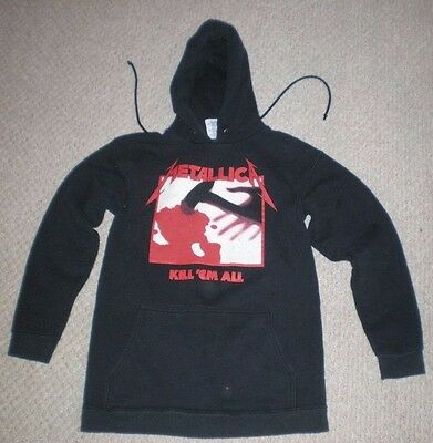 Vintage METALLICA Kill 'em All heavy sweatshirt hoodie long sleeve SMALL