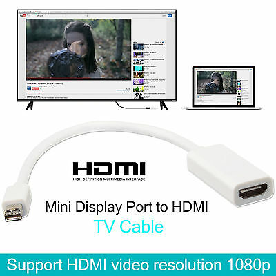 Mini Display Port to HDMI HD TV Cable Lead Adapter For Pro MacBook Apple Mac UK