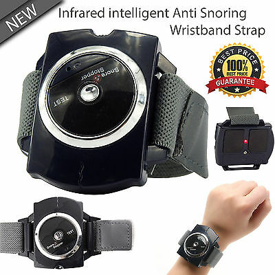 Anti Snore Wristband Snore Stopper Device Aid Infrared Intelligent Stop Snoring