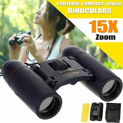 30×60 Binoculars Day Vision & 15x High Zoom Smart Telescope Foldable New
