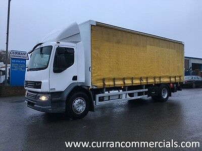 2011 Daf LF 55.220 18 Ton 4x2 on air 26ft Curtainsider with tail lift