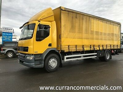 2010 Daf LF 55.220 18 Ton 4x2 on air 26ft Curtainsider with tail lift