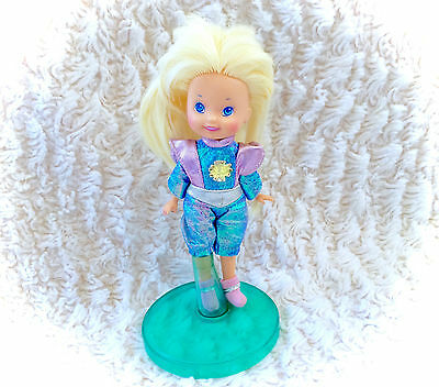 Vintage 1986 Complete Moondreamers Sparky Dreamer Doll With Stand Figure Moon