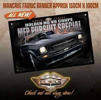 Holden  Hq Monaro Mfp Pursuit Special - Mad Max - Large Banner - Nightrider