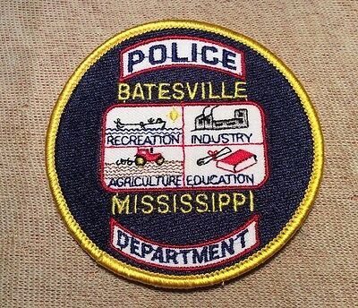 MS Batesville Mississippi Police Patch