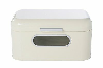 Juvale White Bread Box Pastries Durable Container Vintage Kitchen Essential