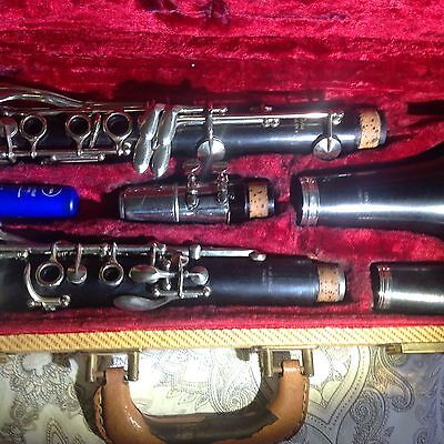 wood clarinet Bb made in France jean barre