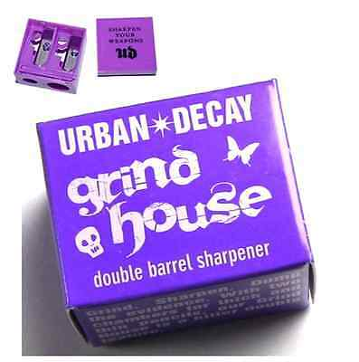 Urban Decay Grind & House Double Barrel Eye Pencil Sharpener NEW Boxed