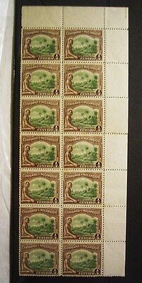 Mozambique Part Sheet Of 14 Mint Stamps With Slight Foxing