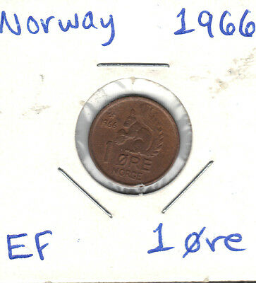 Norway 1966 1 Ore Coin